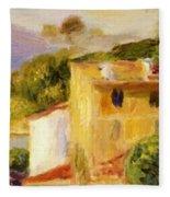 Coastal Landscape 1904 Fleece Blanket