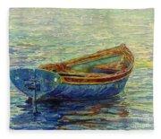 Coastal Lullaby Fleece Blanket