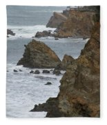 Coastal Storm Fleece Blanket