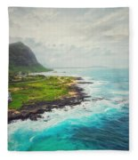 Coastal Views Fleece Blanket