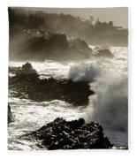 Coastline Oregon Fleece Blanket