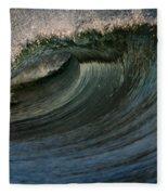 Cobalt Wave Fleece Blanket