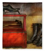 Cobbler - Life Of The Cobbler Fleece Blanket