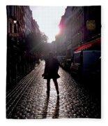 Cobblestone Path Home Paris Fleece Blanket