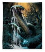 Cobra Falls Fleece Blanket