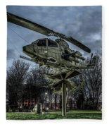 Cobra Helicopter Bristol Va Fleece Blanket