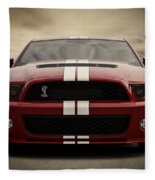 Cobra Red Fleece Blanket