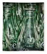 Coca Cola So Many Bottles Fleece Blanket