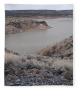 Cochiti Lake Fleece Blanket