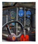 Cockpit Fleece Blanket