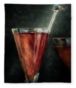 Cocktail Time Fleece Blanket