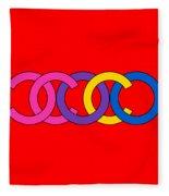 Coco Chanel-8 Fleece Blanket