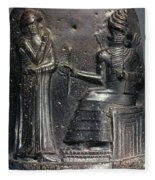 Code Of Hammurabi. Fleece Blanket