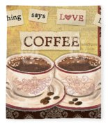 Coffee Love-jp3592 Fleece Blanket