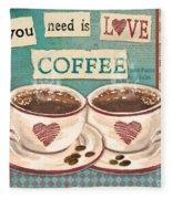 Coffee Love-jp3593 Fleece Blanket
