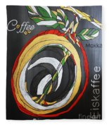 Coffee Mokka Fleece Blanket