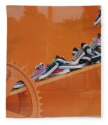 Cogs N Converse Fleece Blanket