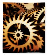 Cogwheel  Fleece Blanket