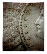 Coin Collector I Fleece Blanket