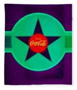 Coke N Lime Fleece Blanket