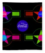 Cola-candy Fleece Blanket