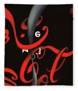 Cola - Coca Zero Fleece Blanket