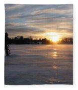 Cold Morning Fleece Blanket