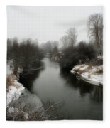 Cold River Fleece Blanket