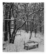 Cold Seat Fleece Blanket