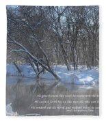 Cold-snow Fleece Blanket