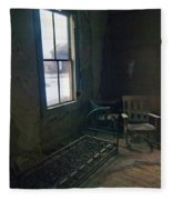 Cold Window Light Fleece Blanket