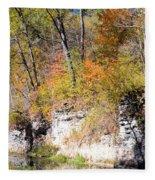 Coldwater Bluffs Fleece Blanket