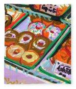 Coligny Donuts Fleece Blanket
