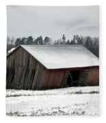 Collapsing Barn Fleece Blanket