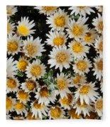 Collective Flowers Fleece Blanket