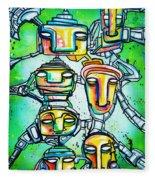 Collective Minds Fleece Blanket