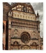 Colleoni Chapel Fleece Blanket