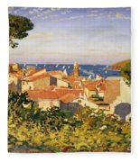 Collioure Fleece Blanket
