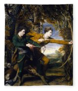 Colonel Acland And Lord Sydney The Archers Fleece Blanket