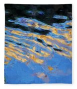 Color Abstraction Lxiv Fleece Blanket