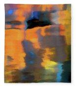 Color Abstraction Lxxii Fleece Blanket