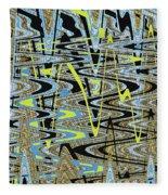 Color Combo Abstraction Fleece Blanket