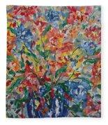 Color Expressions. Fleece Blanket