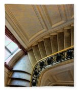 Color Interior Stairs  Fleece Blanket