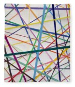 Color Lines Variety Fleece Blanket
