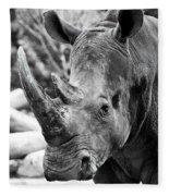 Color Me Rhino Fleece Blanket
