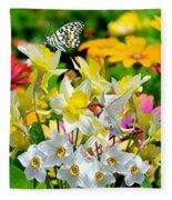 Color Of Nature Fleece Blanket