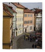 Color Of Prague Fleece Blanket