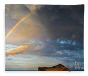 Color Of The Rain Fleece Blanket