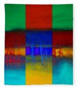 Color State Fleece Blanket